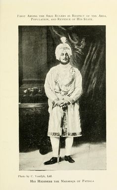The King's Indian allies; the rajas and their India Rare Photos, Old Photos, Duleep Singh, Female Actresses, Freedom Fighters, Patiala, Classical Music, Fashion History, The Borrowers