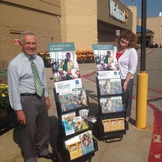 Cart witnessing at a Walmart in Appleton Wisconsin USA. Photo shared by @ashsnopl by jw_witnesses