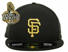 NEW ERA x MLB「SF Giants MLB World Series Commemorative Gold」59Fifty Fitted Baseball Cap