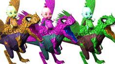 Spider Dinosaur Finger Family | Kids Songs | Baby Rhymes | Dinosaur Cartoons For Children | Songs http://youtu.be/d9GuUEBq2KM