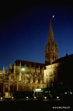 Caen mai 1971, église Saint Pierre