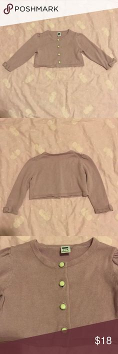 Janie & Jack Baby Girl Sweater Used. Barely worn. Very good condition. No stains. Size: 12-18 months Janie and Jack Shirts & Tops Sweaters