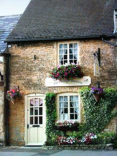 Also a super cute stone cottage!