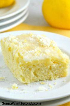 Lemon Cake Lemon Desserts, Lemon Recipes, Just Desserts, Dessert Recipes, Homemade Desserts, Buttermilk Recipes, Lemon Cakes, Homemade Breads, Dessert Ideas