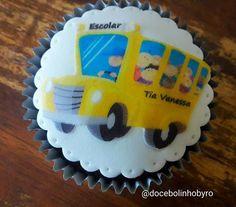 Doce Bolinho by Ro: Cupcake Van Escolar
