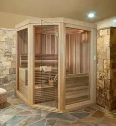 38 Easy And Cheap Diy Sauna Design You Can Try At Home. he prospect of building a sauna in the home may initially sound daunting, but in fact it is a relatively simple project and one that requires on. Saunas, Spa Bathroom Decor, New Bathroom Ideas, Sauna Steam Room, Sauna Room, Mini Sauna, Basement Sauna, Deco Spa, Building A Sauna