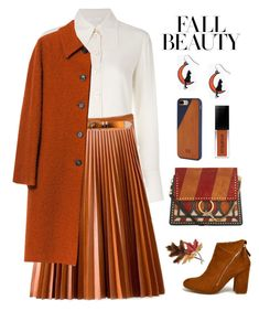 """Untitled #2336"" by ebramos ❤ liked on Polyvore featuring Chloé, Philosophy di Alberta Ferretti, Native Union and Anne Klein"