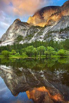 Mirror Lake, Yosemite National Park, California