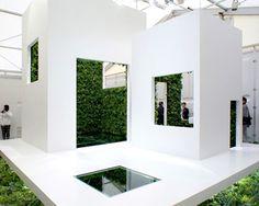 naruse inokuma architects green bathroom concept   house vision 2013