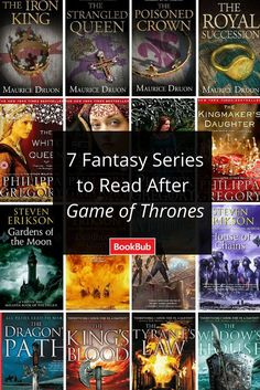 7 Fantasy Series to Read After Game of