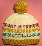 Ravelry: Winter Blues hat pattern by Brook Taylor