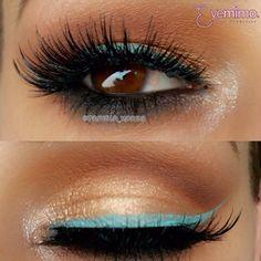 #EyeMakeup inspiration by @pamela_xoreg wearing our #falsie style #GLM12. _________________________________ ⒮⒣⒪⒫ ⒫⒭⒪⒟⒰⒞⒯⒮ ⒜⒯ www.shopeyemimo.com/falseeyelashes-glm12