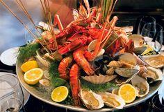 Repas de fruits de mer, Moraira - Costa Blanca (Espagne)