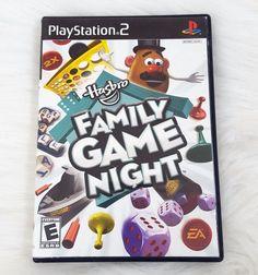 Hasbro Family Game Night Sony PlayStation 2, 2008 PS2 #Hasboro