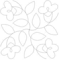 Winding Way Flower Block - 305