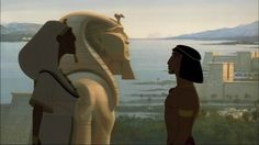 The Prince of Egypt- Pharaoh Seti and Moses