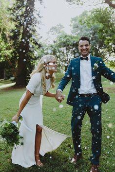Carolyn & Andrew's Modern Dockside Wedding - Nouba