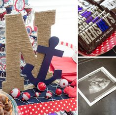 rustic nautical baby shower                                                                                                                                                     More