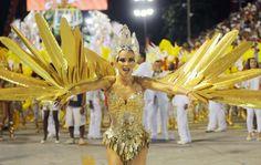 Ana Furtado volta para a avenida como rainha de bateria da Grande Rio no Desfile das Campeãs.