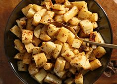 Honey-Mustard Parsnips Recipe (add bacon?)