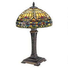 The Carlisle Beaux-Arts Stained Glass Lamp $179.00