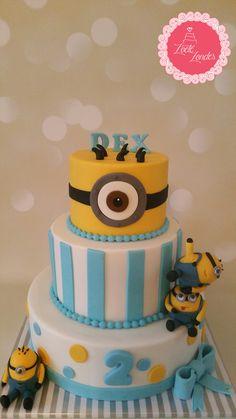 #Miniontaart, #Minioncupcake, #minion3dtaart, #taartspijkenisse, #taartbestellen