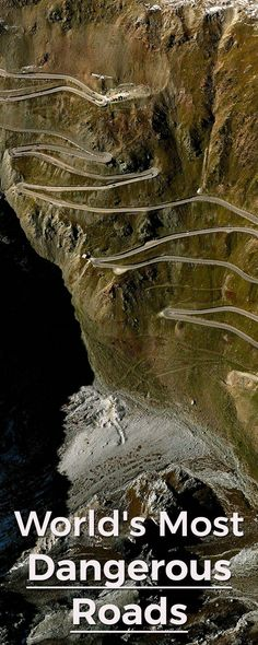 Most Dangerous Roads from All Over the World Roads are built and developed for us to have a safer ride but not with these most dangerous roads you can ever travel on. Here are perfect road trip ideas if you want to have something thrilling. Scary Places, Places To See, Beautiful Roads, Beautiful Places, Dangerous Roads, Perfect Road Trip, Roadtrip, Scenery, World