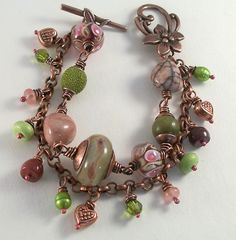 pink and green bracelet 010 by Lune2009, via Flickr - kjs