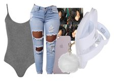 """Untitled #2445"" by itzmealisia ❤ liked on Polyvore featuring WearAll, NIKE and Topshop"