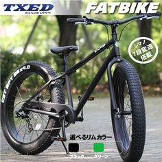 ファットバイク ビーチクルーザー 自転車 26インチ FATBIKE シ :fat002:ECOLIFE - 通販 - Yahoo!ショッピング