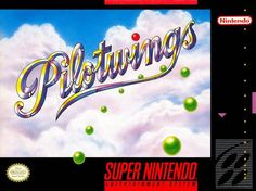 Image result for pilotwings snes box