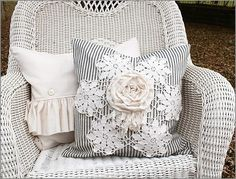 Wicker and pillows (1) From: Inspiration Lane, please visit