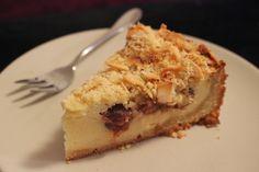karolina-azzaro: Tvarohovo višňový koláč