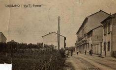 Milano - Quartiere Dergano - Via Davanzati - Via Ferrer, 1925