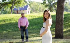 Country maternity photos