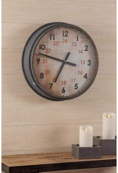 Home Marketplace Cooper Classics Industrial Clock