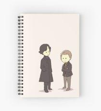 Sherlock and John Spiral Notebook