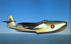 Saunders Roe SR.A1 - In May 1944 the British Air Ministry gave the green light for the production of three prototypes of the world's only jet powered flying boat. By 1947 advances in conventional aircraft design rendered the design obsolete