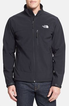 The North Face 'Apex Bionic' ClimateBlock™ Windproof & Water Resistant Softshell Jacket available at #Nordstrom