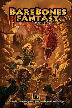 Barebones Fantasy RPG cover