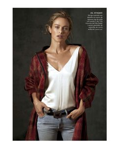 Vogue Mexico August 2017 Carolyn Murphy photographed by Will Davidson | fashion editorial fashion photography