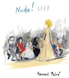 Part two of fashion-crazed woman-of-a-certain-age Mrs. Tependris's trip to couture. T Magazine, Fashion Sketchbook, Armani Prive, Ny Times, Front Row, Art Inspo, Princess Zelda, Couture, Boutique