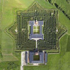Il Labirinto della Masone a Fontanellato, Parma, il più grande del Mondo