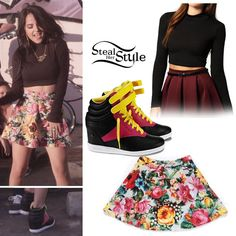 Becky G outfit Becky G Outfits, Summer Outfits, Cute Outfits, Becky G Clothes, Amazing Outfits, Dance Outfits, Sexy Outfits, Pretty Outfits, Becky G Style