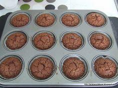 by Acasa Colt de Rai-Chocolate trio muffins (in English) Chocolate Muffins, Goodies, Breakfast, English, Food, Chocolate Chip Muffins, Sweet Like Candy, Morning Coffee, Treats