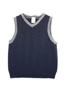 Boys Sweater Vest at  www.themunchkinmarket.com