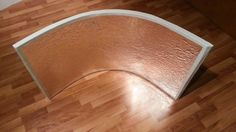 How to do a DIY eye lighting curved reflector.