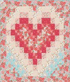 Free Quilt Pattern - Smitten Quilt