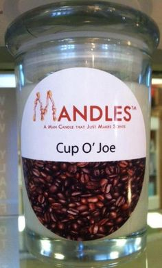 Items similar to Cup 'O Joe Coffee Candle - Mandles Candles for Men on Etsy Joe Coffee, Coffee Candle, Candle Companies, Vintage Glassware, Soy Candles, Handmade Gifts, Antiques, Day, How To Make