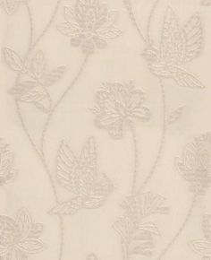 Elegance (20-286) - Graham and Brown Wallpapers - Elegant flowing floral trail with metallic mosaic textures for an kitchen & bathroom. Elegance is a Beige & Cream Tile Wallpaper. Please request a sample for true colour match. Other colours available.